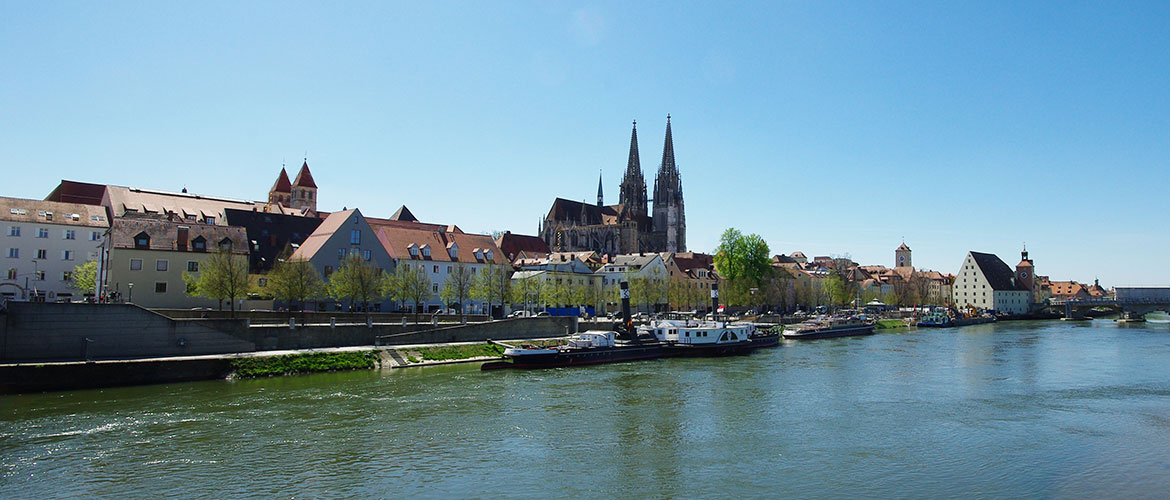 Wohnen in Regensburg Background